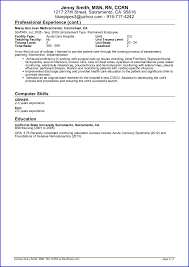 Sample Travel Nursing Resume - Free Template  Bluepipes Blog