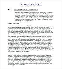 Executive Summary Sample For Proposal Response Template Proposal Letter Rfp Executive Summary Example
