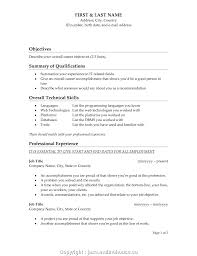 99 Best Objective Lines For Resume Ideas Objective For