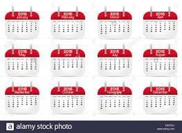 Annual Calendar 2015 Annual Calendar 2015 English Language Vector Illustration