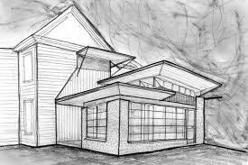 architectural building sketches. Unique Sketches Paulson Residence Intended Architectural Building Sketches