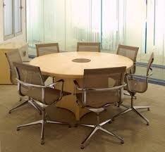 round office desk. fulcrum round conference meeting table office desk n