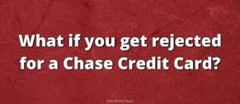 But different consumer protections apply to credit and debit card charges. What To Do If You Get Rejected For A Chase Credit Card