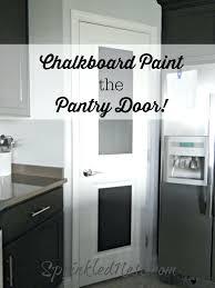 white pantry door black