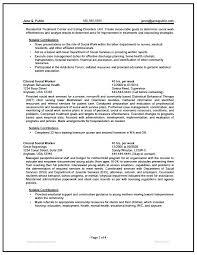 Mental Health Worker Cover Letter Social Behavioral Case Manager