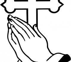 Small Picture Elegant Praying Hands Coloring Page 33 About Remodel Line Drawings