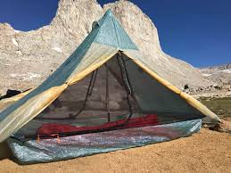 note that a mid panel tieout on each mesh door allows the mesh to be tied out to widen the living area and stabilize the tent in windy conditions span