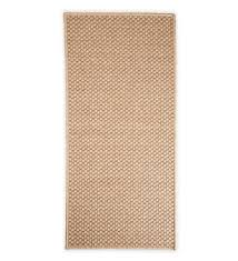 7 10 round laurel indoor and outdoor seagrass look rug in neutral patterns