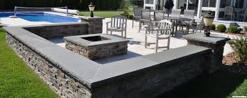 Seating Wall Blocks Paver Fire Pits Images Paver Patio Amp Fire Pit In Greenwood