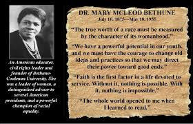Mary Mcleod Bethune Quotes Interesting Famous Quotes From Mary Mcleod Bethune Quotes