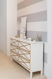 white ikea furniture. White-and-grey-striped-wall-white-dresser White Ikea Furniture