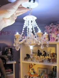 never grow up a mom s guide to dollore adorable doll sized chandelier at