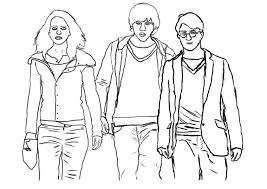 Harry potter coloring pages are such varieties of kid's coloring pages that are both educative and fun. Top 10 Awesome The Harry Potter Coloring Pages Your Kids Will Love Coloring Pages For Kids On Coloring Forkids Com