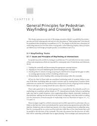 chapter general principles for pedestrian wayfinding and  page 10