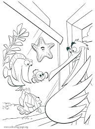 Bruce The Shark Finding Nemo Coloring Pages Finding Coloring Pages
