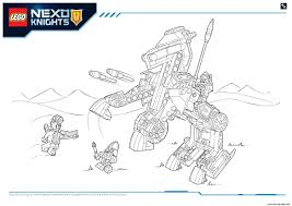 Small Picture Lego NEXO KNIGHTS products 6 Coloring pages Printable