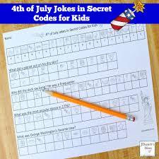 4th Of July Jokes In Secret Codes For Kids