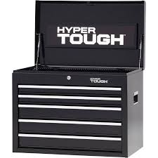 walmart tool box. hyper tough 5-drawer tool box with ball-bearing slides, walmart r