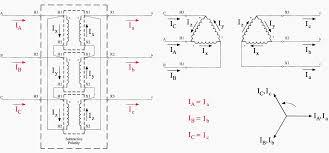 electrical transformer diagram. Delta\u2013Delta Transformer Connections Electrical Diagram