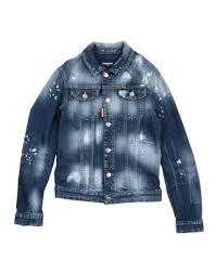 Dsquared2 <b>Джинсовая Куртка Для Мальчиков</b> 9-16 лет на YOOX