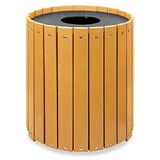 commercial outdoor trash cans. Recycled Plastic Trash Cans Commercial Outdoor