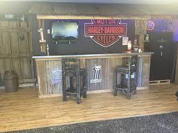 rustic man cave bar. Interior:Rustic Man Cave Bar Inside Great Garage Basement Bars Rustic