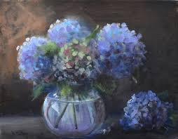 hydrangea painting hydrangeas by donna tuten