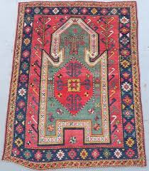 carpet hangers. caucasian sewan kazak prayer rug carpet hangers