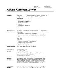 Babysitting Resume Templates Classy Babysitting On Resume Example Babysitting Resume Template Example Of
