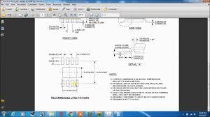 Smd Pad Design Smt Footprint Creation Using Pads Layout