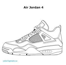 Most Likely Nike Shoe Coloring Page And Coloring Pages Jordan Shoes