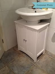 likeable marvellous bathroom under sink cabinet white shaker at