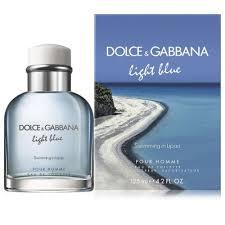 Dg Light Blue Swimming In Lipari