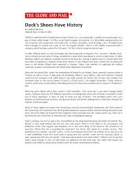 dack s shoes have history g m matthew dack footwear  dack s shoes have history g m 1984