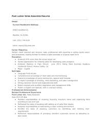 print sales resume fillable online foot locker sales associate resume fax email