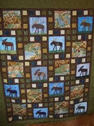 paper pieced moose quilt | Tela, Colchas y Costura &  Adamdwight.com