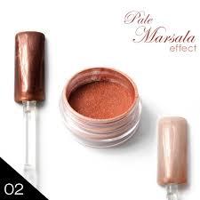 02 Chromatic Pigment Pale Marsala Chromový Efekt A