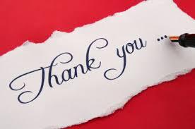 Image result for viết thư cảm ơn