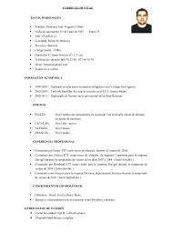 Curriculum Vitae Con Foto 2