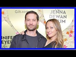 tobey maguire supports ex wife jennifer meyer at jewelry launch