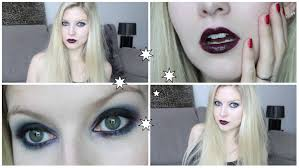 glam goth make up tutorial