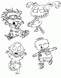 Small Picture Coloring Pages Nickelodeon Characters Good Coloring Coloring Pages