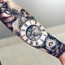 17 best ideas about mens watches online luxury stunning pocket watch tattoo r numerals on forearms guys