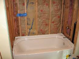 How To Install A Bathroom Awesome Sterling Accord Bathtub Installation With Pictures Terry Love