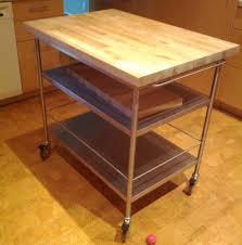 Kitchen Carts Ikea Ikea Kitchen Cart Grundtal Roltafel Maak Je Keuken Helemaal Af