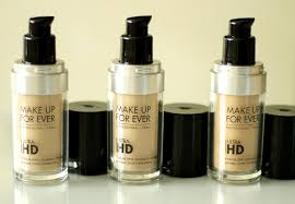 new make up for ever ultra hd invisible cover foundation in y225 y235 and y245 review