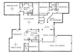 3 Bedroom Open Floor House Plans Ideas Cool Inspiration