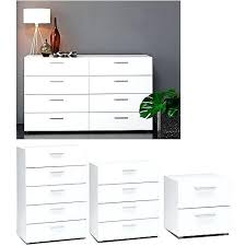 white dresser and nightstand set. Dresser Nightstand Set Awesome Com Intended For White And Idea Wood