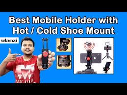 <b>Ulanzi ST</b>-<b>06</b> Phone Tripod Mount with Cold Shoe / Hot Shoe ...