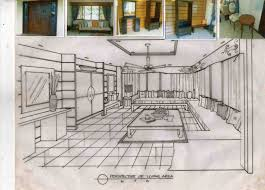 interior design drawings perspective. Brilliant Design Decorating Attractive Interior Design Drawing 26 Ideas Drawings  Perspective Sketch Pencil And In Color Tips S Inside A
